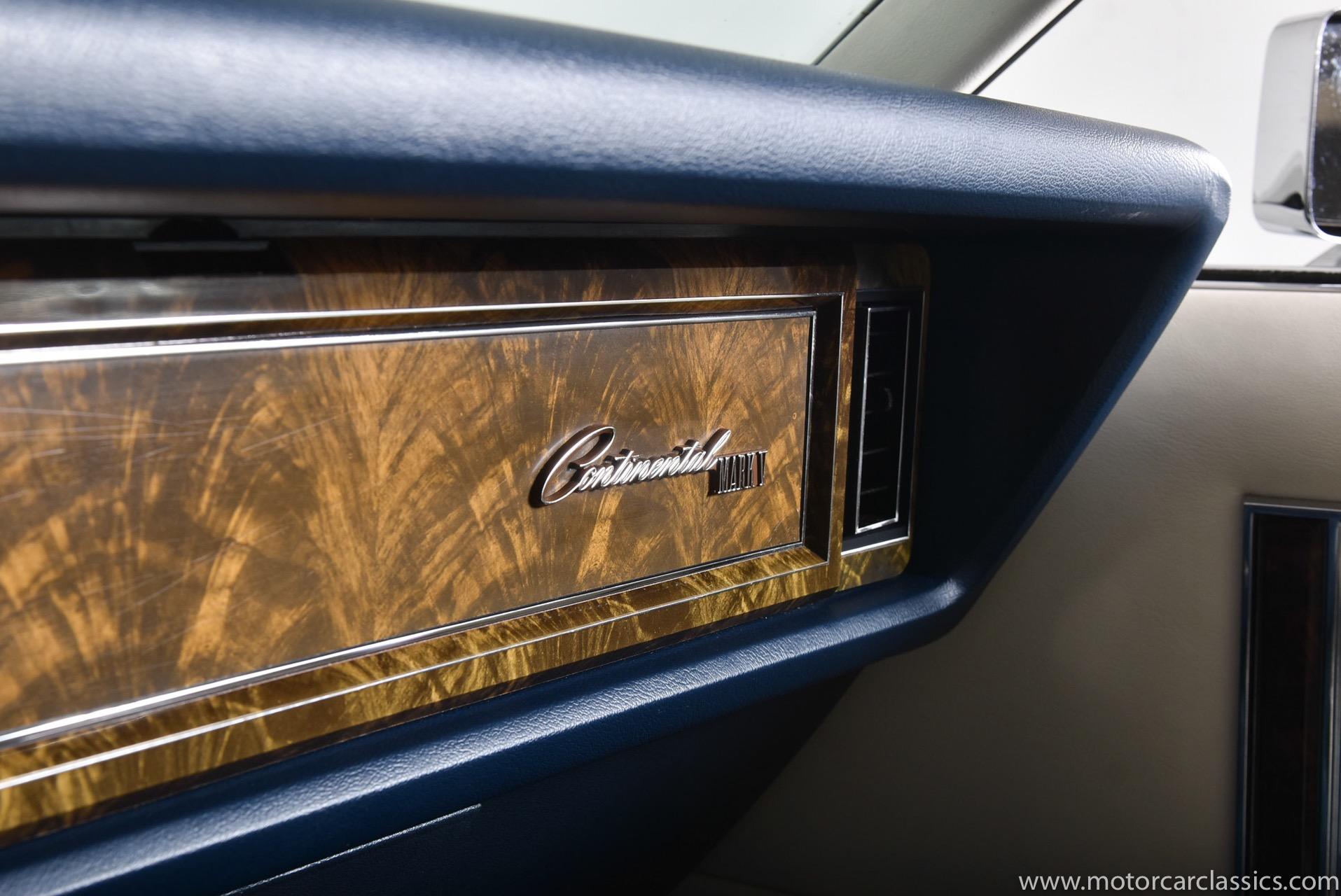 1979 Lincoln Continental Mark 5