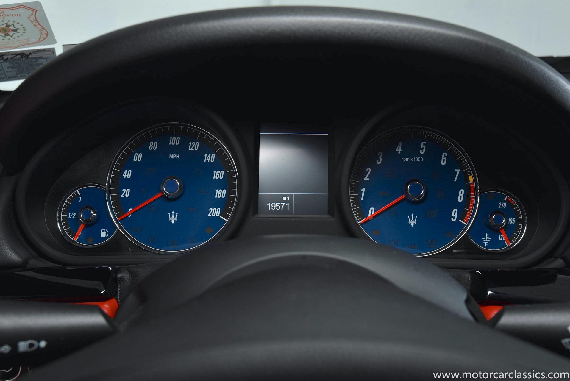2011 Maserati GranTurismo S MC Sportline