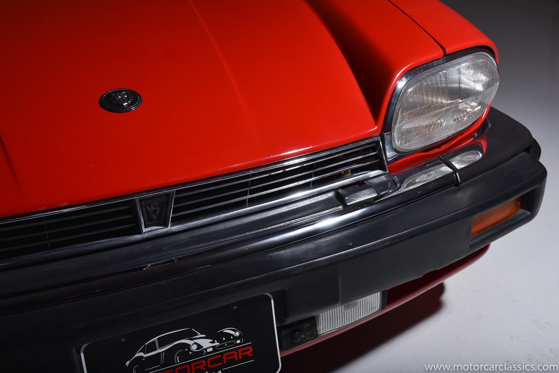 1986 Jaguar XJ-Series XJS