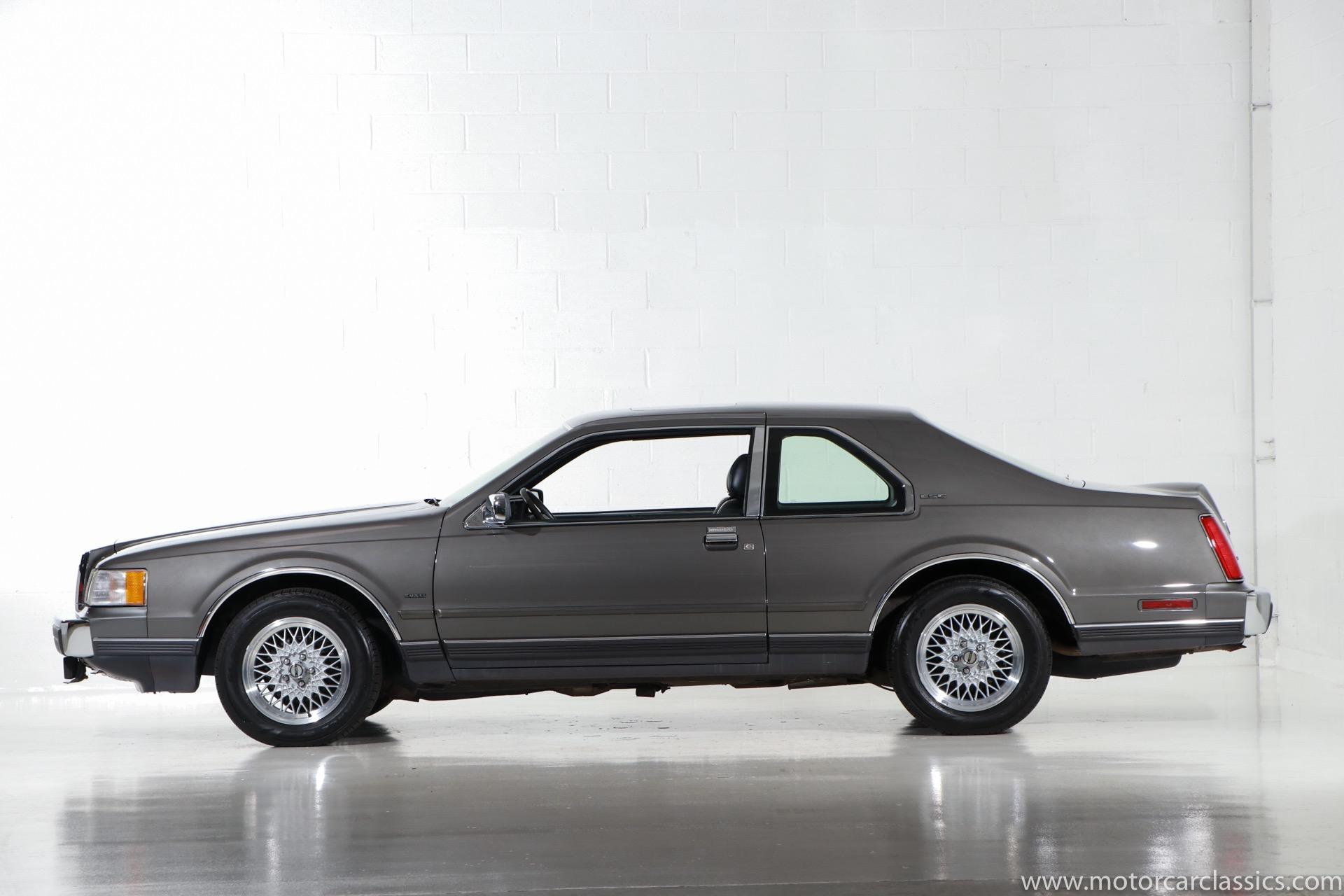 1989 Lincoln Mark VII LSC