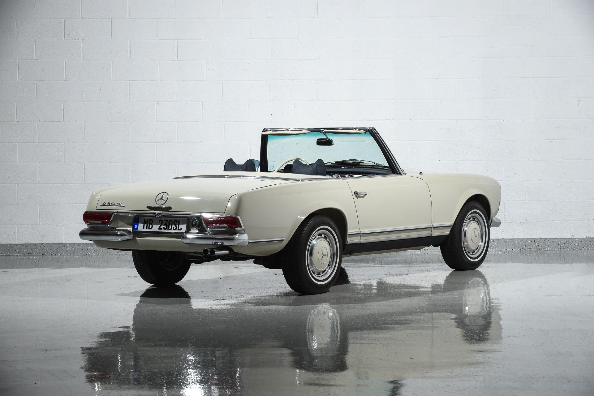 1967 mercedes benz 230sl motorcar classics exotic and for Mercedes benz 230 sl