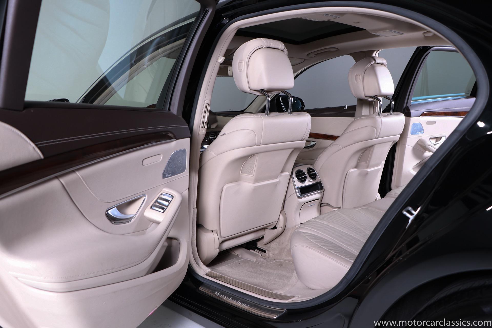 2015 Mercedes-Benz S-Class S 550 4MATIC