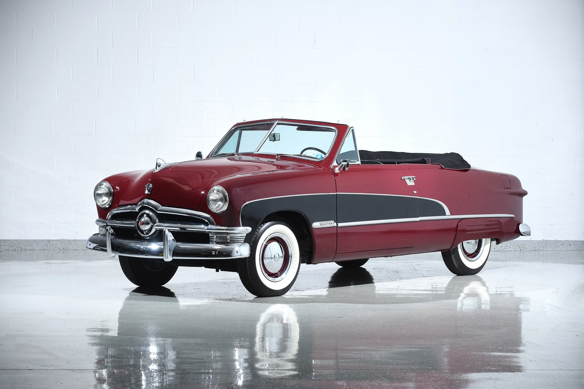 Used 1950 Ford Crestliner Custom Deluxe For Sale 44 900 Motorcar Classics Stock 1073